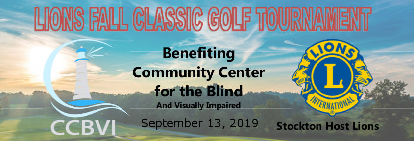Lions Golf Tournament 9-13-19